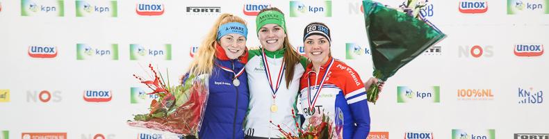 Michel Eenkhoorn en Dieuwertje van Kalken verrassen met Junioren A-titels