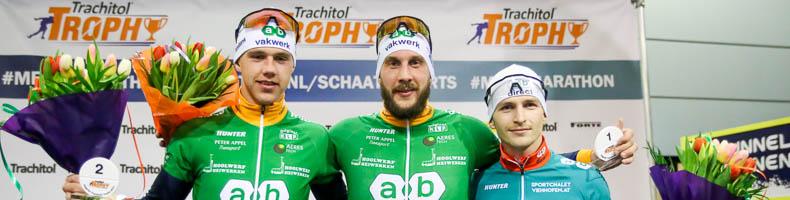 Gary Hekman wint bij start Trachitol Trophy, alle prijzen voor AB op eerste dag