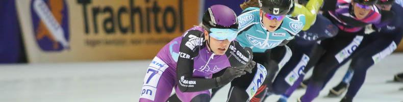 Gijs Nieuwkoop en Arianna Pruisscher winnen zuidelijk kampioenschap marathonschaatsen