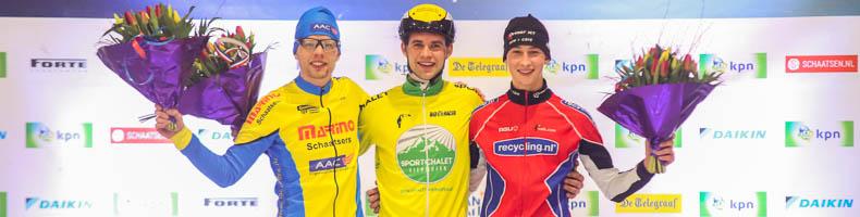 Leander van der Geest wint finalewedstrijd beloften, eindwinst cup voor Ruud Slagter