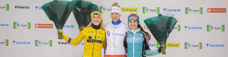 Iris van der Stelt snelt in Tilburg naar eerste seizoenszege
