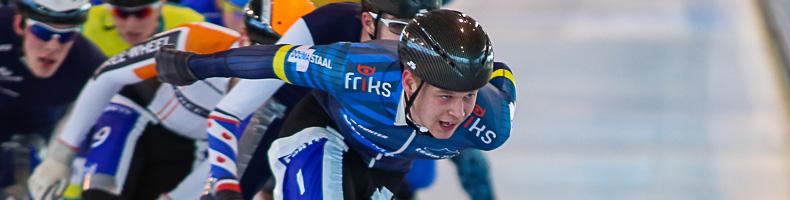 Homme Jan de Groot en Lisanne Buurman sprinten naar winst in Noord-Oost Competitie