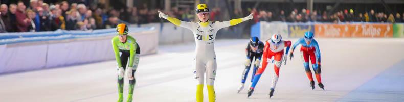 Tweeëntwintig topdivisierijdsters strijden deze winter om wit