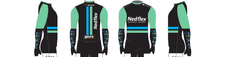 Team Nedflex groener aan de start van nieuwe seizoen