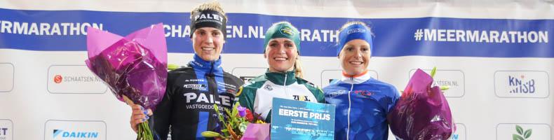 Aanvallende Irene Schouten sprint naar winst in Jaap Eden Trofee