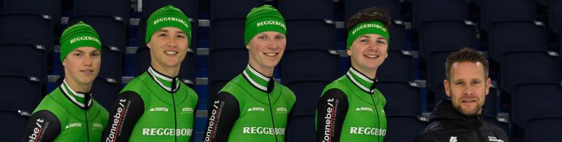 Team Reggeborgh laat RTC Oost-viertal debuteren in beloftenpeloton