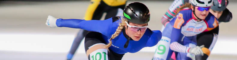 Saskia Alusalu wint eerste Tallinn Kiiruisumaraton