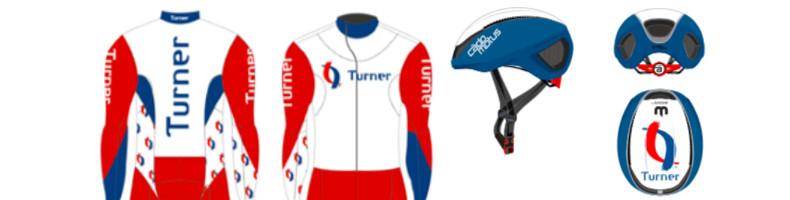 Team Turner kiest voor rood-blauw-wit pak bij debuut